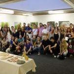 Учесници Летње уметничке школе у Тршићу