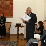 проф. др Димитрије Големовић, Проректор Универзитета уметности