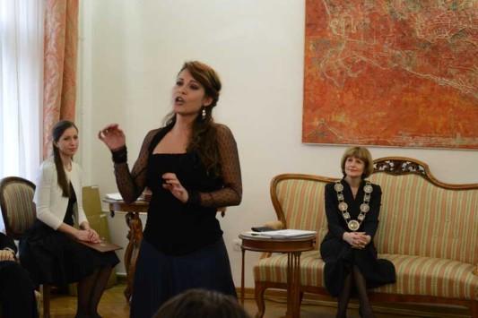 Јелена Банковић, сопран, студент генерације ФМУ