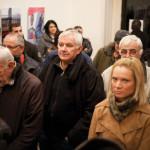 Публика на отварању изложбе