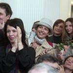 С лева на десно: Небојша Дугалић, Нела Михајловић, Наташа Нинковић, Бранка Пујић, ванр. проф. ФДУ