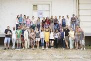 Учесници Летње уметничке школе 2015