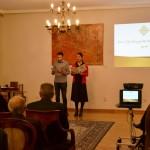 водитељи: Ања Кнежевић и Никола Станковић, студенти ФДУ