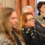 студенти генерације Душан Пајовић, ФПУ и Тијана Грумић, ФДУ