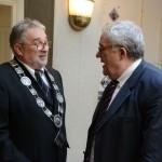 мр Зоран Ерић, ректор УУ и академик Владимир Костић, председник САНУ