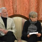 проф. Миодраг Табачки и Бојана Маријан-Макавејев, супруга Душана Макавејева