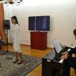 Милена Дамњановић, сопран и Владимир Глигорић, клавирски сарадник