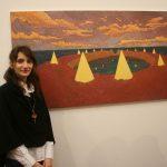 Нина Пухар, студент генерације ФЛУ