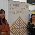 Нина Фуштар, студенткиња проректорка УУ и Милица Весић, председница СПУУ