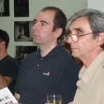 С десна на лево: ред. проф. Коста Крсмановић, ФПУ – водитељ радионице примењених уметности у туризму