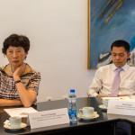 проф. Gao Xiaohong, Декан Факултета за журнализам и комуникацију, Ni Xuli, Професор докторских студија на Школи за дигиталну уметност и анимацију Универзитета за комуникацију Кине