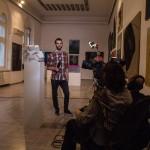 Снимање разговора са учесницима Заједничке изложбе ФЛУ и ФПУ - Срећко Ћирковић, студент Фотографије ФПУ