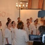 Академски хор ''Collegium musicum'' и диригент Драгана Јовановић, ванр. проф. ФМУ