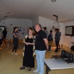 др Сања Филиповић, уметнички директор ЛУШ 2017 и Вигор Мајић, директор Истраживачке станице Петница