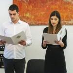 Милан Зарић и Биљана Тодоровић, водитељи програма